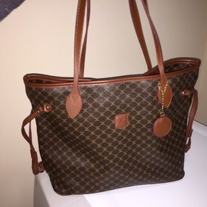 Handbags - Perfect condition - coated leather tote bag.